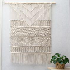 Large Macrame Wall Hanging / Modern Macrame / Dip Dye / Ombre / Wall Art / Boho…