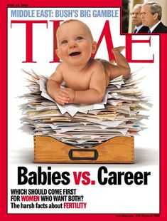 TIME Cover: Babies vs. Career