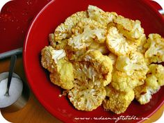 SCD Mustard Roasted Cauliflower (*Use SCD legal dijon mustard...)