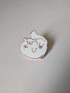 Fuffy Cat Hard Enamel Pin by rozekki on Etsy Bag Pins, Jacket Pins, Hard Enamel Pin, Kawaii, Cool Pins, Metal Pins, Pin And Patches, Up Girl, Pin Badges
