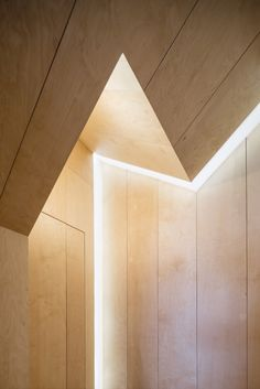 Archive, Homestore & Kitchen by Haptic. The position of the lights can be adjusted depending on whether the space is being used to host a supper club, exhibition or gathering.
