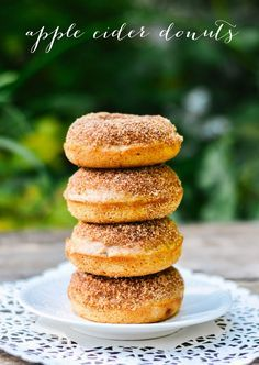 p.s.♡: [baked] apple cider donuts. This. This is the baked apple cider donut recipe i've been waiting for!