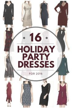 I've rounded up 16 Holiday Party Dresses for 2016 that are all less than $250 (most are less than $150) including accessory suggestions and product links! Fashion Over 40 | Jo-Lynne Shane