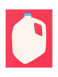 """""""Two Percent Milk"""" - Limited Edition Art Print by Elliot Stokes in beautiful frame options and a variety of sizes."""