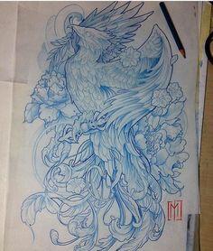 Phönix Tattoo, Tattoo Expo, Samoan Tattoo, Polynesian Tattoos, Phoenix Design, Phoenix Tattoo Design, Tattoo Phoenix, Japanese Dragon Tattoos, Japanese Sleeve Tattoos