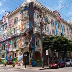 Mission District, San Francisco: chosen as the second most hipster neighborhood in the States!
