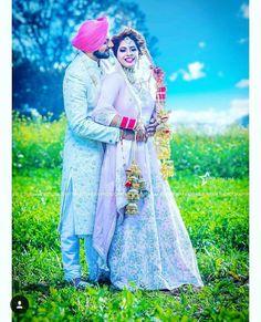Sikh Wedding photography of a Punjabi bride and groom Punjabi Wedding Couple, Wedding Couple Photos, Punjabi Couple, Sikh Wedding, Wedding Book, Wedding Couples, Punjabi Boys, Couple Pictures, Indian Marriage