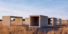 Marfa, Texas - Art - Chinati - Donald Judd - Open House