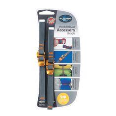 Correas de Sea to Summit, accesorios versátiles con hebilla de liberación rápida de acero recubierto de cinc para hacerlas más duraderas: http://www.daantienda.es/hydrapak/cinta-10mm-hebilla-strap-hook-15m-2623