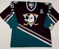 2a96b6bbd12 Teemu Selanne Anaheim Mighty Ducks Jersey CCM Vintage for sale online |  eBay. Nhl ...