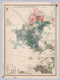 California State Engineering Department. Detail Irrigation Map. 1885