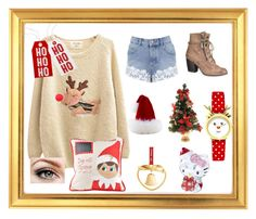 I love Christmas by danielle-777 on Polyvore featuring polyvore fashion style Chicnova Fashion Miss Selfridge maurices Glory Haus Talking Tables Swarovski Georg Jensen clothing