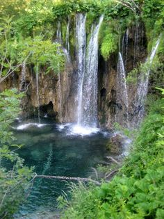 Croatia... Plitvice Lakes National Park.