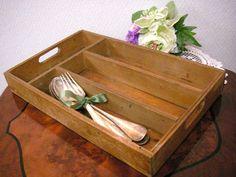 Cutlery フランスアンティークカトラリーケース シェルフ棚 雅姫北欧家具 インテリア 雑貨 Antique ¥4500yen 〆06月25日