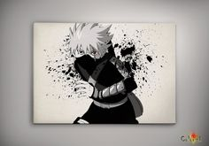 Naruto Shippuuden Kakashi Watercolor Print 8x10 Archival Print - Art Print - Wall Decor Art Poster- Anime Print- Manga -Cartoon on Etsy, 62,25 zł