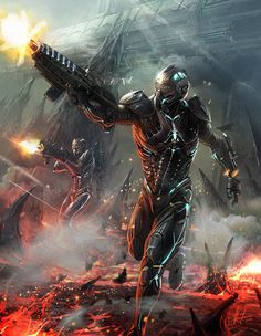Sci-Fi Concept Art Suit | posted in concept art fantasy sci fi tags battle sci fi soldier ...