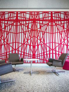 Zintra (MDC Wall)| Unique Acoustic Solutions, pattern, felt, acoustic wallcovering