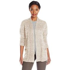 #Christmas Buying Jason Maxwell Women's Marled Hi-Lo Cardigan Sweater With Pockets, Egret/Simply Taupe, Large for Christmas Gifts Idea Shoppers . Regardless of whether you're looking to deal with yourself that Christmas  or maybe need some ideas while buying with regard to other folks. Christmas  is really a time to detachment via work, catch u...