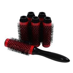 Click n Curl Full Small Set - This helps you get a salon quality blowout at home. The rollers attach to the brush head, so you can dry and style your hair in one step to maximize volume and body while minimizing time.