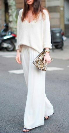 Great everyday look that is a bit glam and easy! So flowy, so pretty
