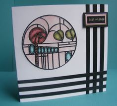 The Craft Shed—Charles Rennie MacIntosh stamp (Chocolate Baroque) Art Nouveau, Art Deco, Craft Shed, Flower Cards, Baroque, Card Making, Stamp, Crafty, Chocolate