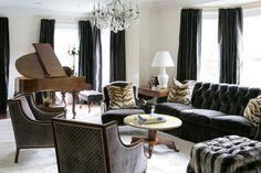 Living Room Chandeliers - Design Chic