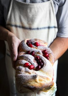 Searching for the perfect Christmas morning breakfast? Look no further than this delicious and delectable Cranberry Swirl Bread recipe from the talented Jonathan Stiers. With a little experimenting, Stiers whipped up this magical combination of sweet and tart — perfectly refreshing with a big cup of cocoa, hot coffee or cider while opening stockings on Christmas …