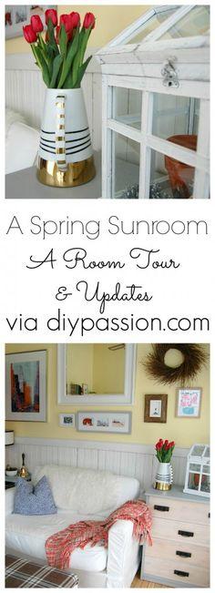 A Spring Sunroom! A