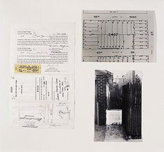 Gordon Matta Clark Reality Properties: Fake Estates, Little Alley Block 2497, Lot 42