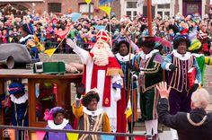 Pieten en Sinterklaas,  landelijke intocht 2011 Roermond