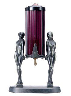 FRANKART Art Deco table lamp. by singerscoach