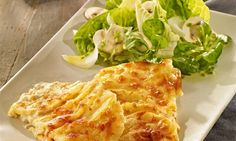 Creamy potato gratin from a tin Recipes: Quick potato gratin as an accompaniment to meat and vegetab Lasagna, Cabbage, Low Carb, Potatoes, Vegetables, Ethnic Recipes, Health, Food, Pie