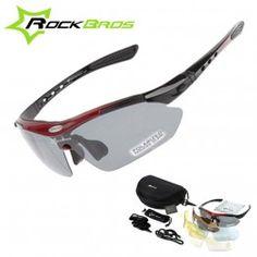 f5ed1527c1 New RockBros Polarized 5 Lens Cycling Sun Glasses Outdoor Sports Bicycle  clismo Bike Sunglasses Eyewear Goggles. Affordable Fashion Sunglasses