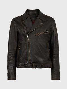 Cole Biker Jacket John Varvatos, Biker, Leather Jacket, Jackets, Fashion, Studded Leather Jacket, Down Jackets, Moda, Leather Jackets