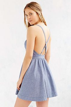 Kimchi Blue April Fit + Flare Dress - Urban Outfitters
