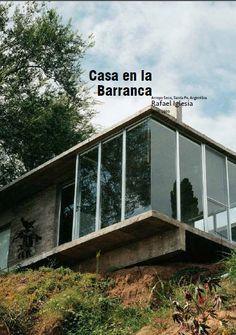 Casa en la Barranca. Rafael Iglesia