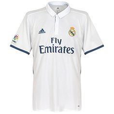 Camiseta Real Madrid Authentic Home 2016-2017 Crystal white-Raw purple  Talla M   97693f60c482d