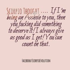 #Scorpio #Zodiac #Astrology For more Scorpio related posts, please follow my FB page, #ScorpioEvolution: https://www.facebook.com/ScorpioEvolution