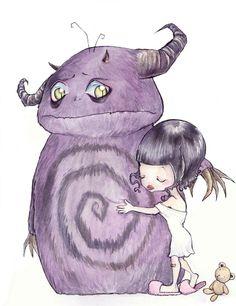 Cuento infantil: No nos quedan monstruos para regalar