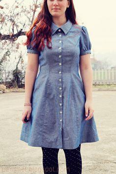 Chambray Bleuet dress