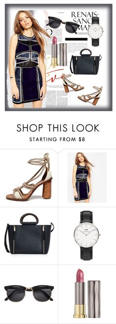 """""""Mila"""" by lindaking67 ❤ liked on Polyvore featuring Mulberry, ASOS, Henri Bendel, Daniel Wellington and Urban Decay"""