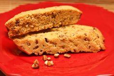 I'm crazy about biscotti (Pecan Biscotti)