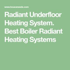 Janes company janes radiant do it yourself radiant floor heating radiant underfloor heating system best boiler radiant heating systems solutioingenieria Images