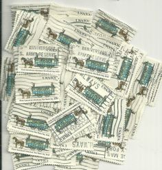 #2059 - 20¢ First Lot x 100 Used US Stamps Lot First American See our other lots