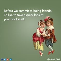 Book humor | Friendship