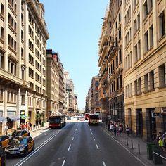Via Laietana / The most amazing street in Barcelona