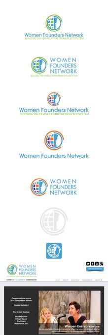 Design a modern, inspirational logo for Women Founders Network by VICKODESIGN