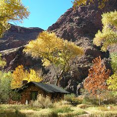 Phantom Ranch, Grand Canyon National Park.  Worth the hike down, camp and hike back up.