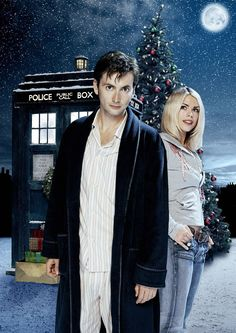 PHOTO OF THE DAY - 21st December 2015: David Tennant & Billie Piper in Doctor Who: The Christmas Invasion (2005)