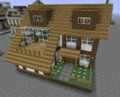House Creations in Minecraft are awesome Minecraft Small House, Cute Minecraft Houses, Minecraft Houses Blueprints, Minecraft House Designs, Amazing Minecraft, Minecraft Roof, Minecraft Stuff, Minecraft Party, Minecraft Buildings